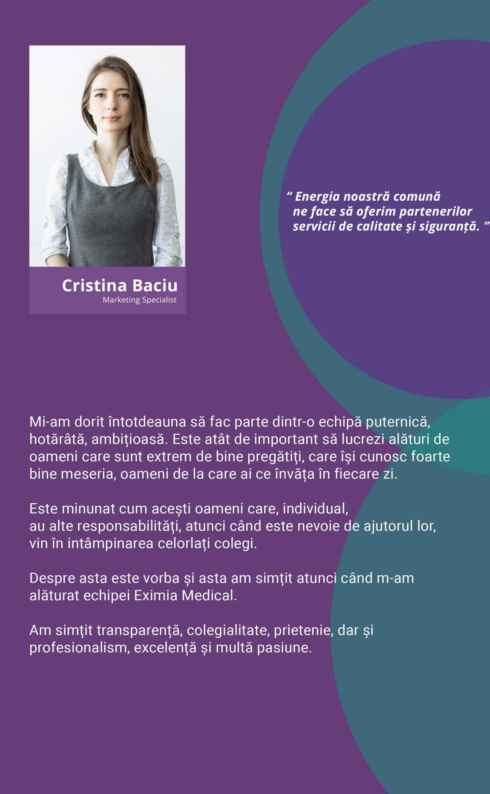 Cristina Baciu